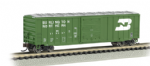 19656 Bachmann US N Scale ACF 506 Sliding Door Box Car Burlington Northern